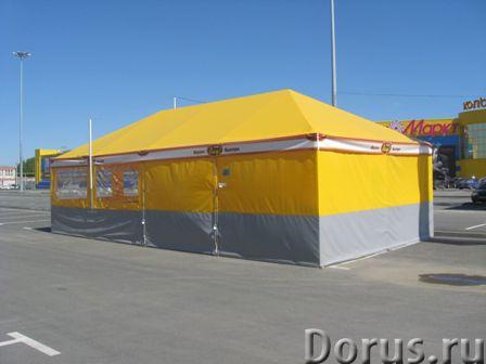 Павильон сборно-разборный 6х6 м - Торговое оборудование - Длина – 6,0 метров Ширина – 6,0 метров Пол..., фото 6